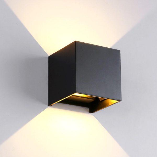 Applique Cubo NERO