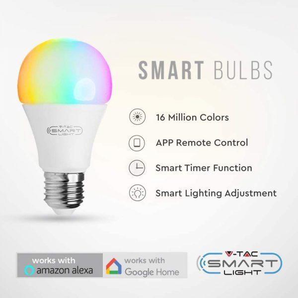 Lampadina E27 Smart 07