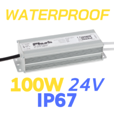 ALIMENTATORE STRIP LED WATERPROOF 100W 24V