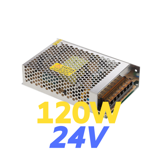 ALIMENTATORE STRIP LED 120W 24V