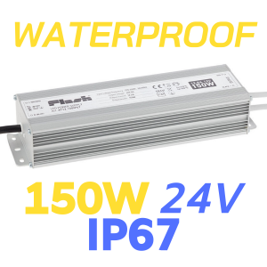 ALIMENTATORE STRIP LED WATERPROOF 150W 24V