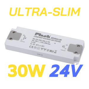 ALIMENTATORE STRIP LED ULTRA SLIM 30W 24V