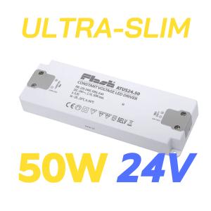 ALIMENTATORE STRIP LED ULTRA SLIM 50W 24V