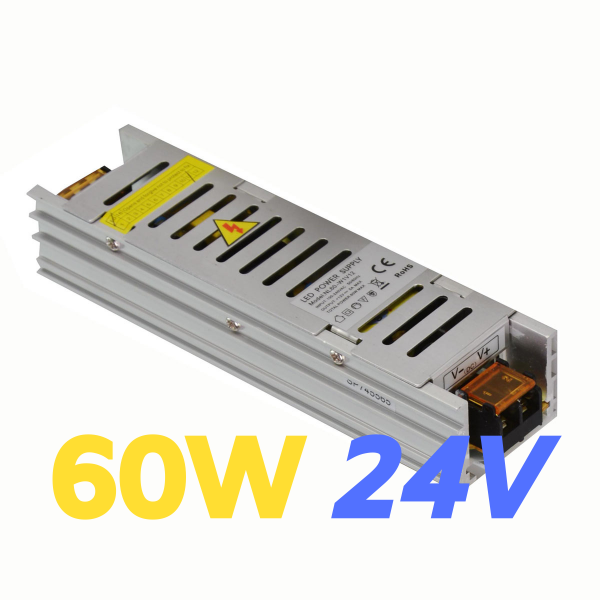 ALIMENTATORE STRIP LED 60W 24V