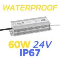 ALIMENTATORE STRIP LED WATERPROOF 60W 24V